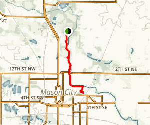 Winnebago River Trail Map