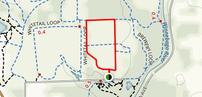 Red-Trailed Hawk Loop Map