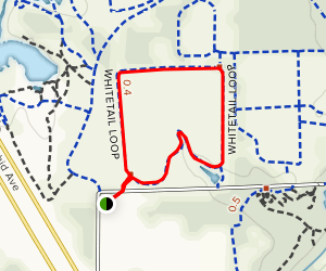 Whitetail Loop Map
