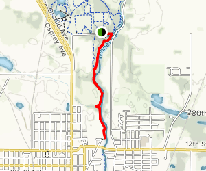 River Bluffs to Winnebago River Trail Map