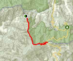Appalachian Trail: Hughes Gap to Carvers Gap Map