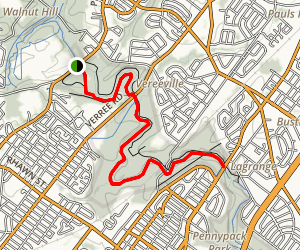 Pennypack North Trail Map