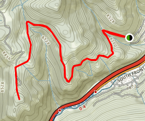 Davos Trail Map