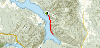 Lake Whatcom Trail Map