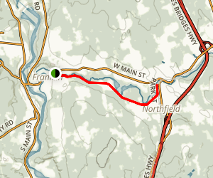 Lower Winnipesaukee River Trail Map