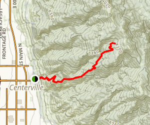 Parrish Creek Trail Map