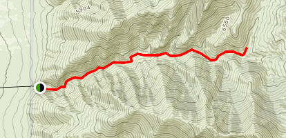 Horse Canyon  Map