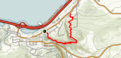 Mosier Plateau Trail Map