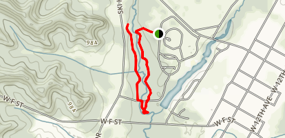 Fort McCoy Pine View Trails Map