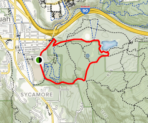 Tradition Plateau Loop Map