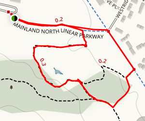 Mainland Common Loop Map