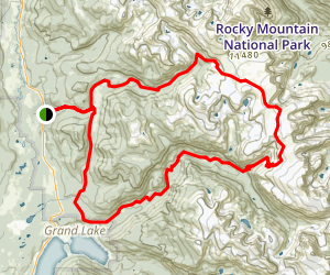 Contential Divide National Scenic Trail Cdnst Loop Map