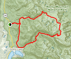 Continental Divide National Scenic Trail (CDNST) Loop Map
