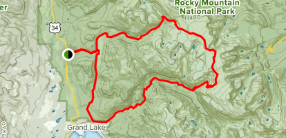 Continental Divide National Scenic Trail (CDNST) Loop ...