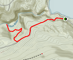 Sultan River Canyon Trail Map