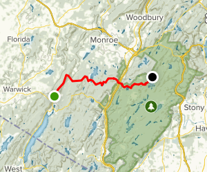 Appalachian Trail Highway 17a To Seven Lakes New York Alltrails