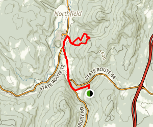 Paine Mtn Trail South Map