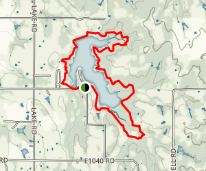 Prague Lake Trail Map