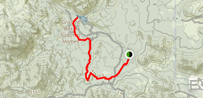 Balancing Rock Trail Map