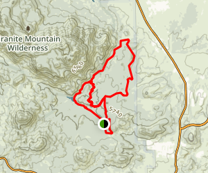 Granite Basin MTB Ride Map