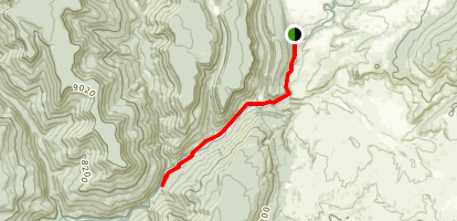 Piedra River Trail Map