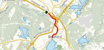 Bedford Sackville Greenway Trail Map