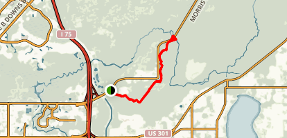 Morris Bridge Bike Trail Map