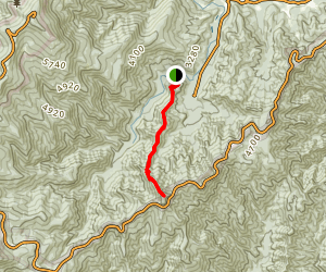 Green Knob Trail Map