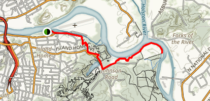Will Skelton Greenway Map