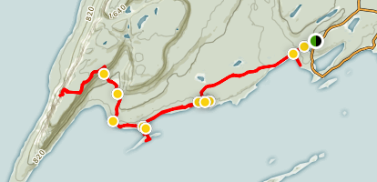 Top of the Giant Trail Map