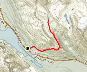 Helen Lake Trail Map