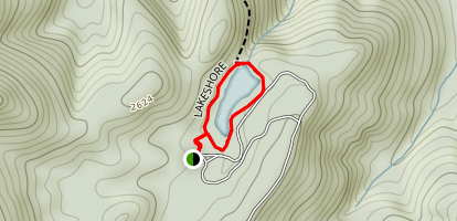 Dockery Lake Loop Map