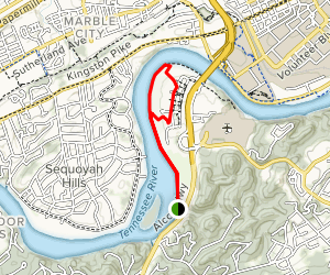Marine Park Greenway Trail Map