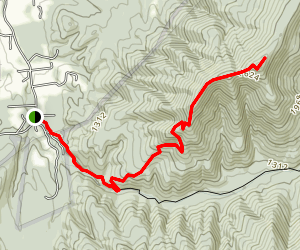 Knob Mountain Trail Map