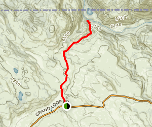 Blacktail Deer Creek Trail Map
