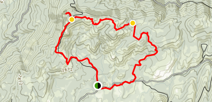 Buck Rock & ATV Trail Loop Map