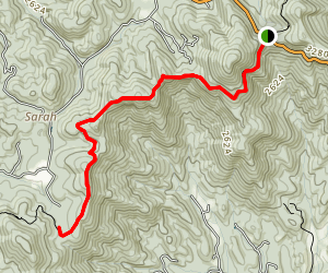 AT- Woody Gap to Gooch Gap  Map