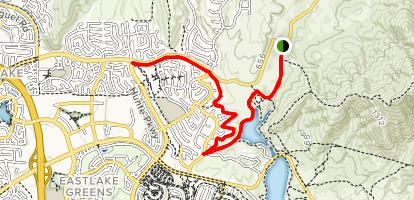 Proctor Valley Road Trail Map