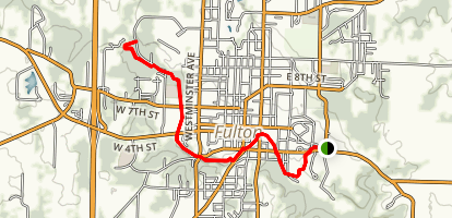 Stinson Creek Trail Map