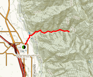 Farmington Creek Trail Map