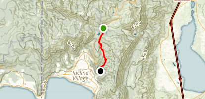 Tyrolean Point-to-Point Trail Map