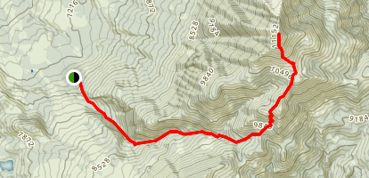 Mount Lamborn Trail Map