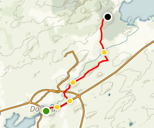 The Bluestack Way: Donegal to Lough Eske Map