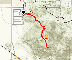 Big Love Rock Trail and Mount Heritage Map