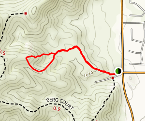 Simpson Trail Map