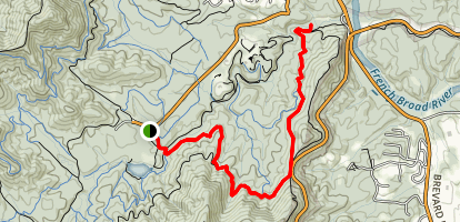 Hard Times Road Trail Map