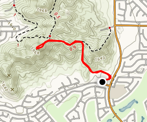 Menifee Cross Hike Map