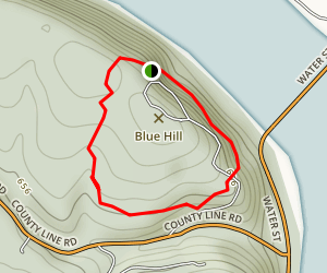Shikellamy Overlook Trail Map