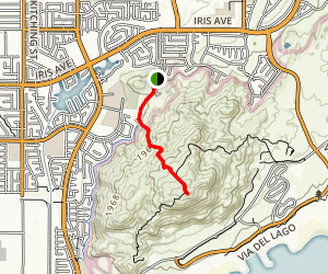 Terri Peak Map