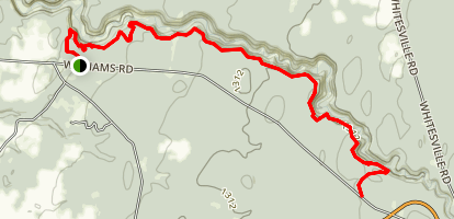 Inman Gulf Hiking and Nature Trail Map